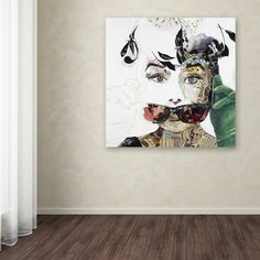 Ines Kouidis 'Audrey' Canvas Wall Art | Overstock.com Shopping - The Best Deals on Canvas
