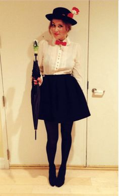 Mary Poppins DIY from Lauren Conrad. For more costume ideas for Mickeys Not So Scary check out HowtoMCO