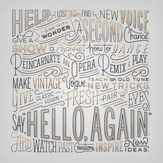 Typeverything.com - Hello Again by Erik Marinovich (via Friends of Type)