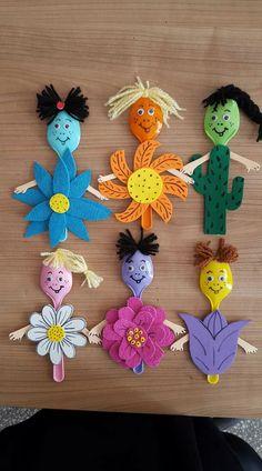 Spoon flower fairies