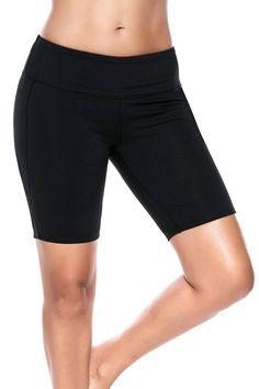 232b8e7f03b78 Splendor flying Women s Yoga Shorts Power Flex Workout Shorts Tummy Control  Workout Running Shorts (Medium