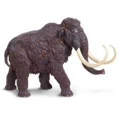 Woolly Mammoth Carnegie Dinosaur Collectibles Safari Ltd