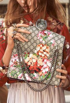 My alain bought me this Gucci bag for the introduction of my line of perfumes............