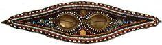 Солнцезащитные очки племени Нганасана. Полуостров Таймыр  Sunglasses tribe Nganasans. Taimyr Peninsula