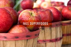 Forget about the goji berries and maca root, these fall favorites are packed with vitamins and nutrients too!