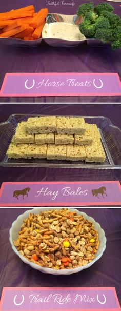 Horse Birthday Party Activities, Food, & Decorations Does your little horse lover have a birthday coming up? Try these ideas for activities, food, and decorations for a special horse birthday party! Dino Birthday, Rodeo Birthday Parties, Horse Theme Birthday Party, Cowgirl Birthday, Birthday Party Decorations, Food Decorations, Birthday Ideas, Horse Party Decorations, Farm Birthday