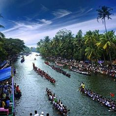 """Snake boat race kerala 2012. """"Vallam Kali"""" is a traditional boat race in Kerala, India. It is a form of canoe racing, and uses paddled war canoes. It is mainly conducted during the season of the harvest festival Onam in autumn. Vallam Kali includes races of many kinds of paddled longboats, the traditional boats of Kerala."""