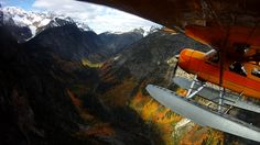 Fall colors in the Stehekin Valley from Chelan Seaplanes tour.