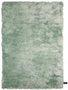 Tapis à poils longs Whisper Turquoise