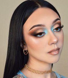 Dope Makeup, Glam Makeup, Pretty Makeup, Makeup Inspo, Makeup Art, Makeup Inspiration, Makeup Tips, Beauty Makeup, Makeup Looks