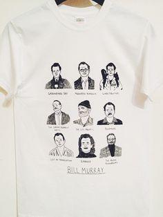 Media t'shirt di Bill Murray di Alexsickling su Etsy