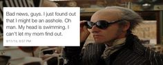 """And discoveries all round. 