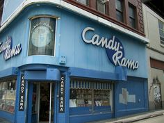 Candy-Rama, downtown Pittsburgh PA. I always finished a trip downtown with a stop at Candy-Rama.