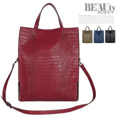 Handbag for Women Crocodile pattern Shoulder Hobo Cross Body Satchel Purse Bag #Handmade #ShoulderBag