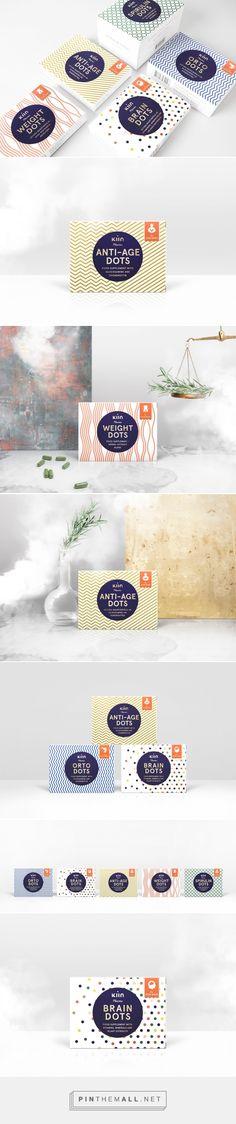 Kiin Pharma food supplements #packaging #design by Jānis Andersons (#Latvia) - http://www.packagingoftheworld.com/2016/05/kiin-pharma.html
