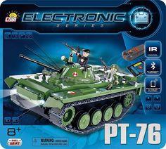 Czołg Elektroniczny PT-76 z bluetooth