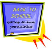 Back-to-School Getting-to-Know You Activities for Middle School ELA.  Yeah!!