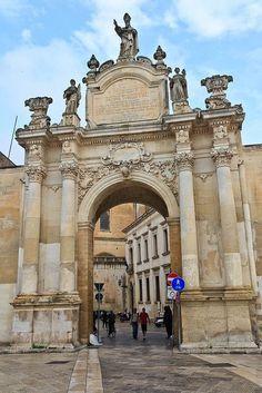 Ancient Gate - Lecce, Apulia, Italy