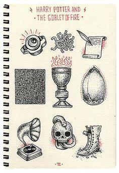 4th book drawings
