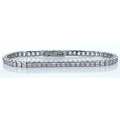 Sterling Silver Rhodium Plated Princess Square Cut Cubic Zirconia Womens Tennis Bracelet -- Check this awesome product by going to the link at the image. Amazing Women, Tennis, Plating, Women Jewelry, Sterling Silver, Princess, Diamond, Metal, Gold