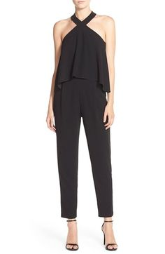 Trina Turk 'Micaela' Popover Crepe Jumpsuit available at #Nordstrom