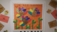 Caregivers Board | Thanksgiving Themed | We Are Thankful For...