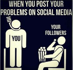Social media can be a great.  Be who you are & say what you feel always but be careful. Not all people who come upon it will be kind.  I've seen many of people hang themselves on social media & I enjoyed every minute of it.Does that make me a terrible person?idk, probably. But who's gonna stop me from reading&thinking those things. Certainly not the person. No one cares about you & I mean that in the nicest way. Take care of yourself. Dont let them turn you into a show.