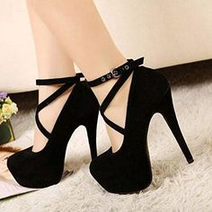 #sale Sexy Fashion Womens Platform Pumps Strappy Buckle Stiletto High Heels Shoeshttp://electriciendepannageelectrique.com/electricien-77/electricien-combs-la-ville-77380/