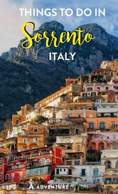 Looking for the best things to do in Sorrento/ This beautiful scenic town is one of the main stops on the famous Amalfi Coast and is often frequented by many. Among the many scenic coastlines and…MoreMore #ItalyVacation
