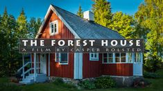 Sweden is a country with wide spaces, thousands of lakes and deep mysterious forests. But it is also a place to relax and regenerate. In our stressful society we… Forest House, Shed, Films, Relax, Outdoor Structures, Cabin, Country, House Styles, Places