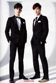 Come visit the biggest KPOP Fashion store in the world @ kpopcity.net !! Changmin and Yunho  DBSK / TVXQ