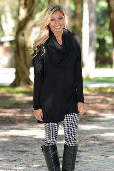 High Hopes Black Tunic Dress Top Shop Simply Me Boutique – Simply Me Boutique