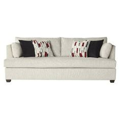 Ebern Designs Perryman Sofa Upholstery: P Sofa Upholstery, Upholstered Furniture, Ashley Furniture Sofas, Sofa Manufacturers, Sofa Bed Sleeper, Red Sofa, Soft Seating, Living Room Sets, Love Seat