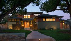Topar - craftsman - exterior - san francisco - by Simpson Design Group Architects Craftsman Exterior, Modern Craftsman, Craftsman Style Homes, Craftsman House Plans, Modern Exterior, Exterior Design, Modern Roofing, Traditional Exterior, Prairie House
