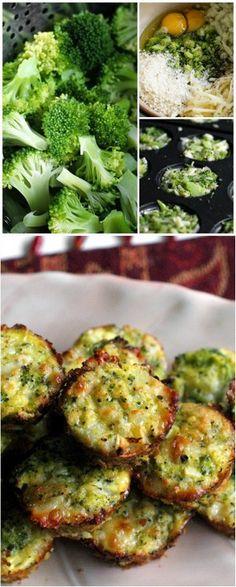 Broccoli Tots   Bake a Bite