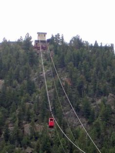 Aerial Tramway in Estes Park, Colorado