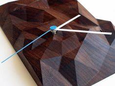 Cincinatti studio Such + Such have designed the Block Clocks, made from locally found hardwoods.