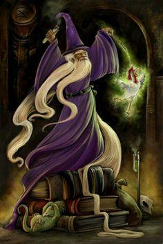 wizard N purple