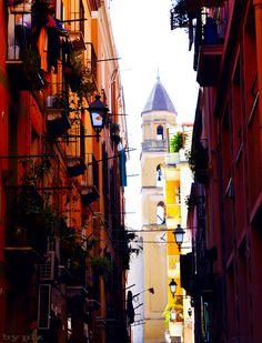 Cagliari, scorcio del quartiere Marina