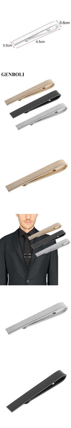New Arrivals Business Men Fashion Simple Suit Tie Clip Necktie Tie Clasp Clip Gentleman Tie Bar Pockets Jewelry Mens Gift
