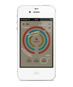 BloodNote - #mobile #app by Peter Bajtala, via #Behance