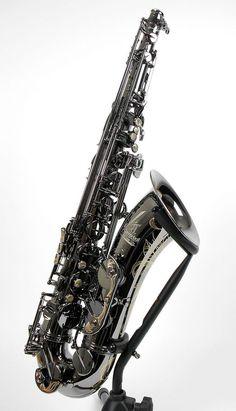 Cannonball Gerald Albright Pro Tenor Saxophone, Black Nickel w ...