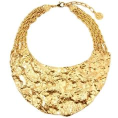 Ben Amun Gold Necklace ($547) ❤ liked on Polyvore featuring jewelry, necklaces, multiple, yellow gold necklace, ben amun necklace, chain necklace, gold chain necklace and gold chain jewelry