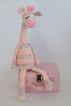 Amigurumi Crochet Giraffe Stuffed Animal Toy by KornflakeStew