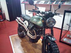 Moto Guzzi V7 scrambler 2015 #motoguzzi #v7