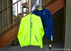 Zoot has a descriptive color name for their product – Volt.     Pictured here, from left-to-right:    Performance flex wind jacket – Volt. Cycling/running wind and rain jacket.    Exotherm Softshell. Long sleeve thermal running top.    Also available in Volt: Men's Performance MICROlite+ ½ Zip running top; Women's Performance MICROlite+ LS Tee.