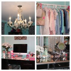 Dressing Room and Office - NitraaB . . . I love her room!!
