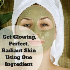 Get Glowing, perfect and radiant skin using this one ingredient! Check it out. #beauty #skincare #skincaretips #Facepack