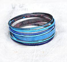 Bangle Bracelet Set 'Lady Muck' Handmade by bullfinchbarbury