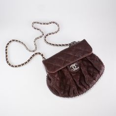 Chanel dark brown flap bag lightly worn & up to 80% off | Union & Fifth